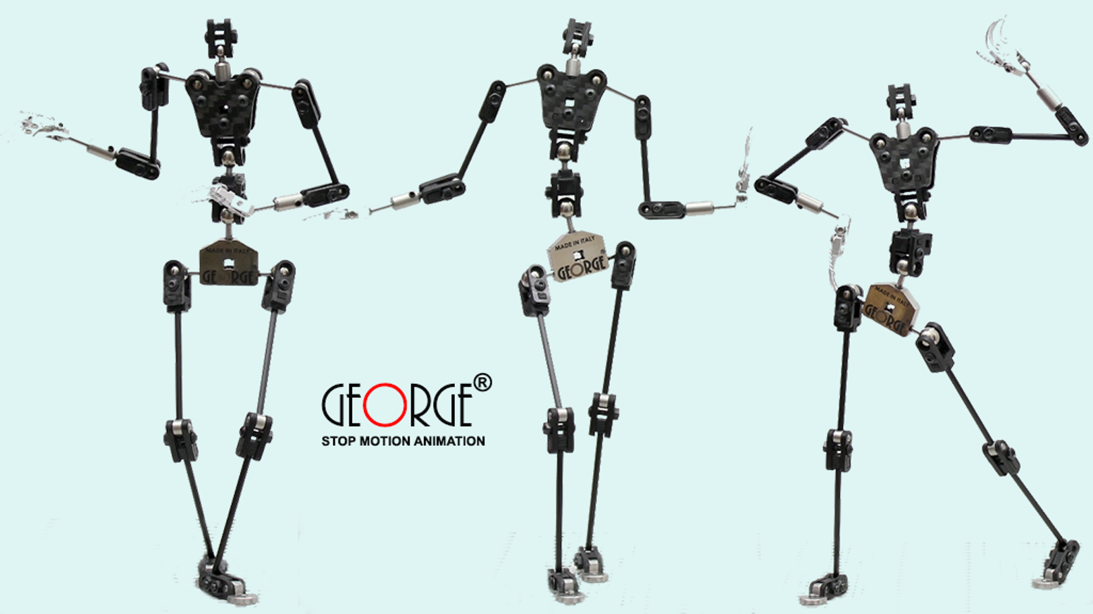 George The World S Best Armature For Stop Motion Animation By Stopmotion Engineering Kickstarter