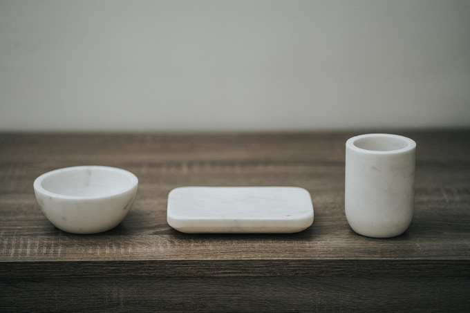 Marble Accessories Set