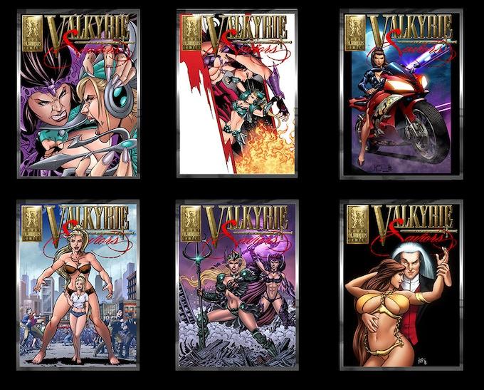 Valkyrie Saviors #1 Homage Metal Card Set