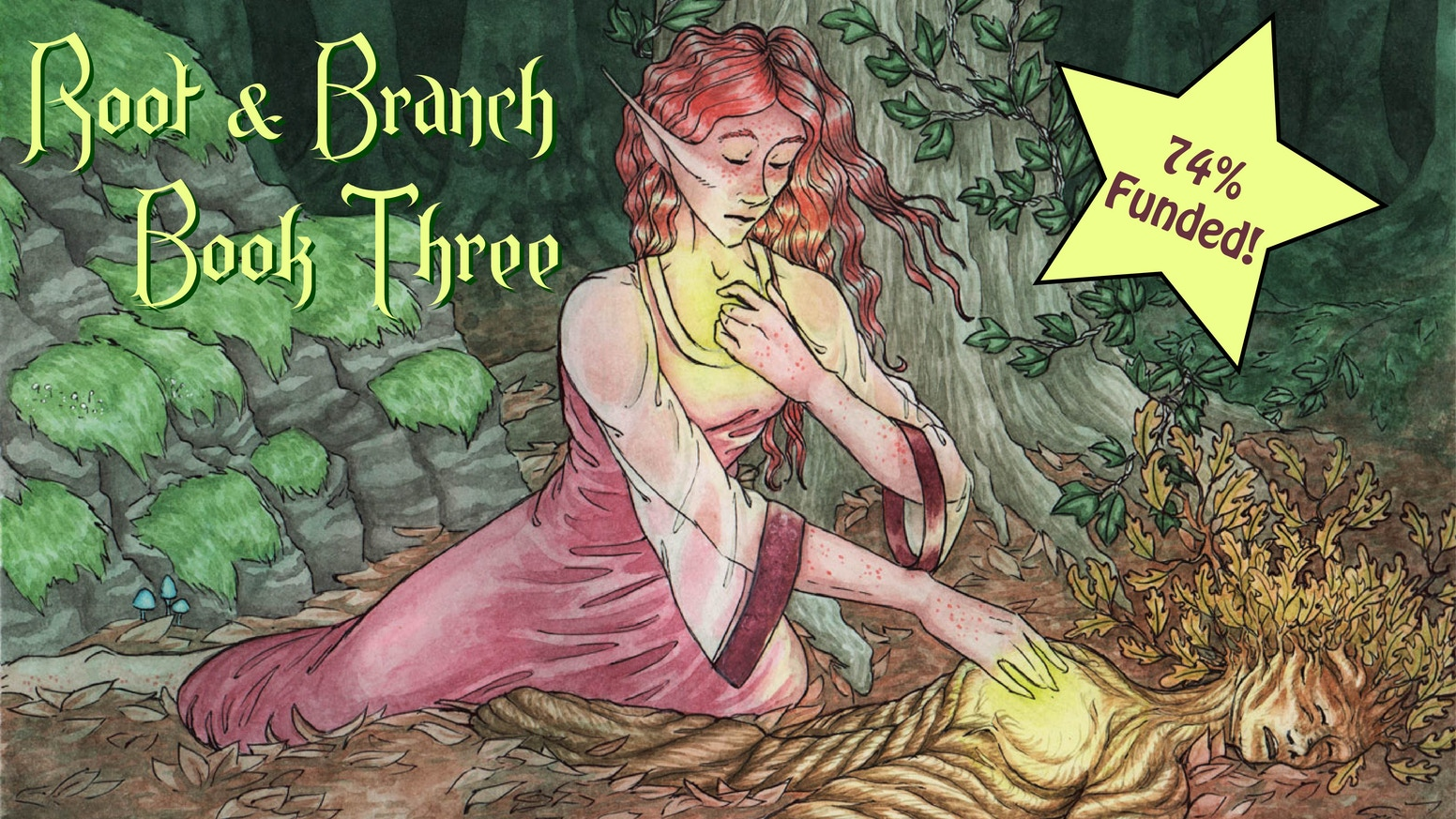 Printing Book Three of Root & Branch - An epic fantasy graphic novel. The latest collected volume of the story, in stunning full color!