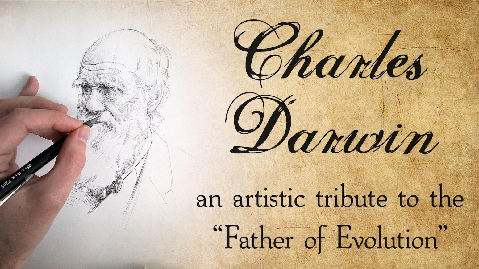 Charles Darwin A Tribute In Art By Stardust Science Faq