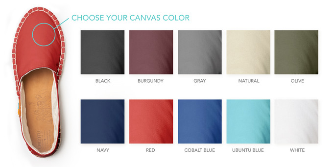 10 Canvas colors
