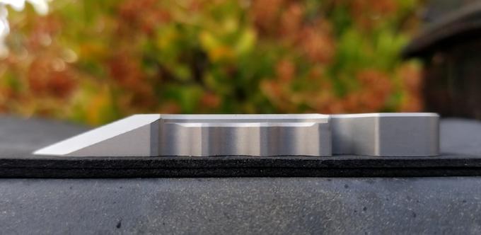 Titanium Fishstick on profile