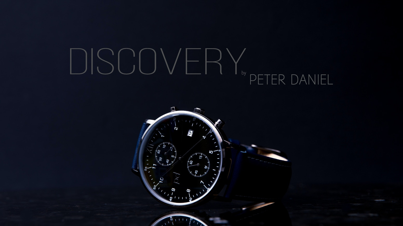 Second stage of Peter Daniel's journey with the latest time keeper and statement piece: Discovery Watches. Click the link below to pre-order!