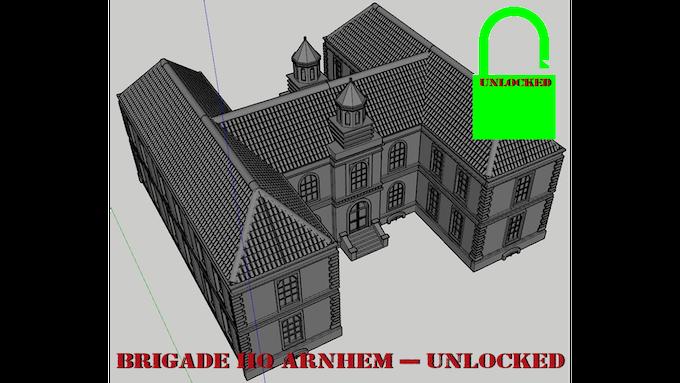 Brigade HQ Arnhem - Unlocked
