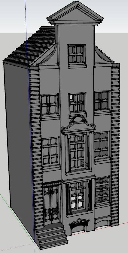 Generic Dutch Building #2 - Locked