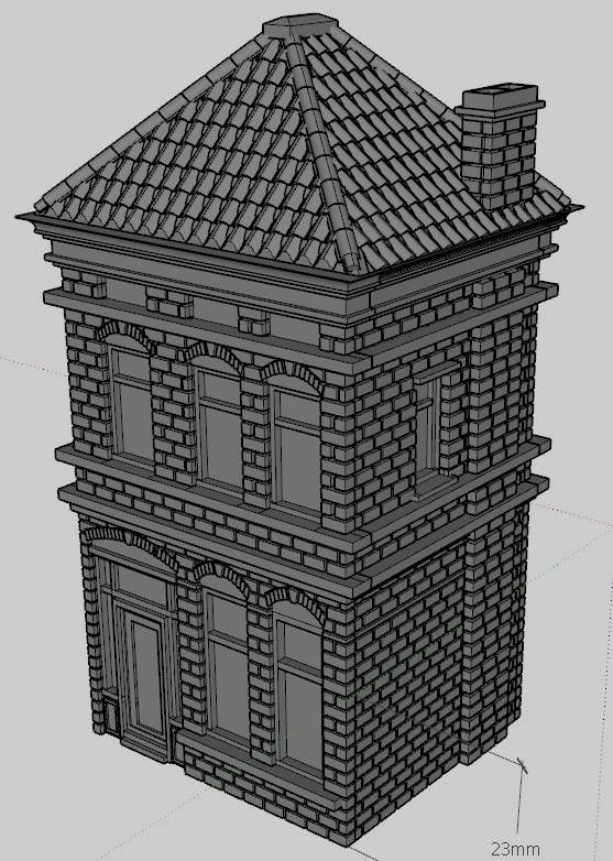 Generic Dutch Building #3 - Locked