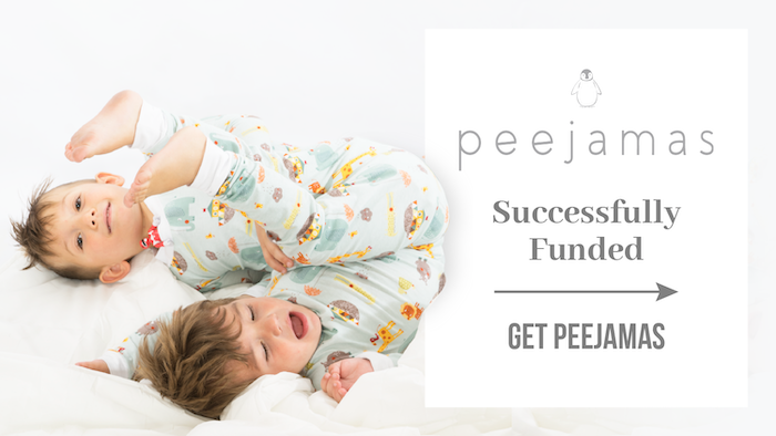 Peejamas are a more affordable, fashionable & environmentally friendly way to potty train at night! 