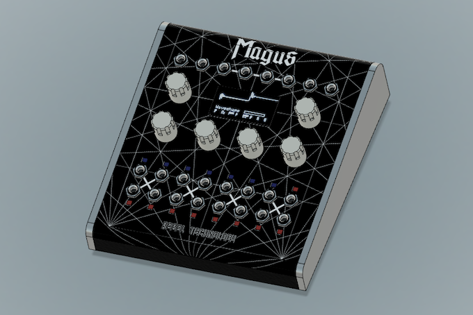 Magus Production Mock-up