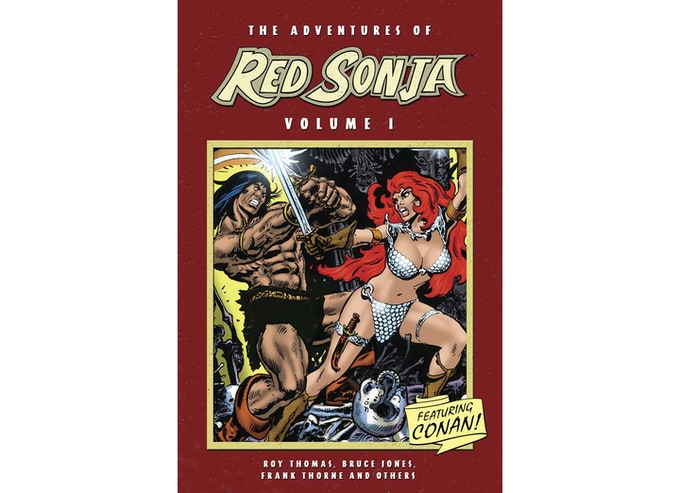 Dynamite's re-print of Red Sonja's classic tales.