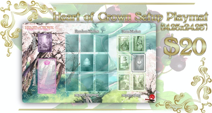 Compatible with Heart of Crown and Fairy Garden