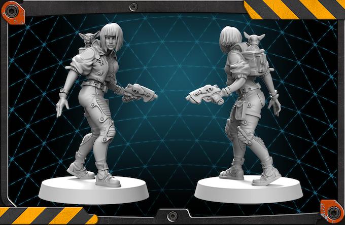 Allyson's figure 3D render.