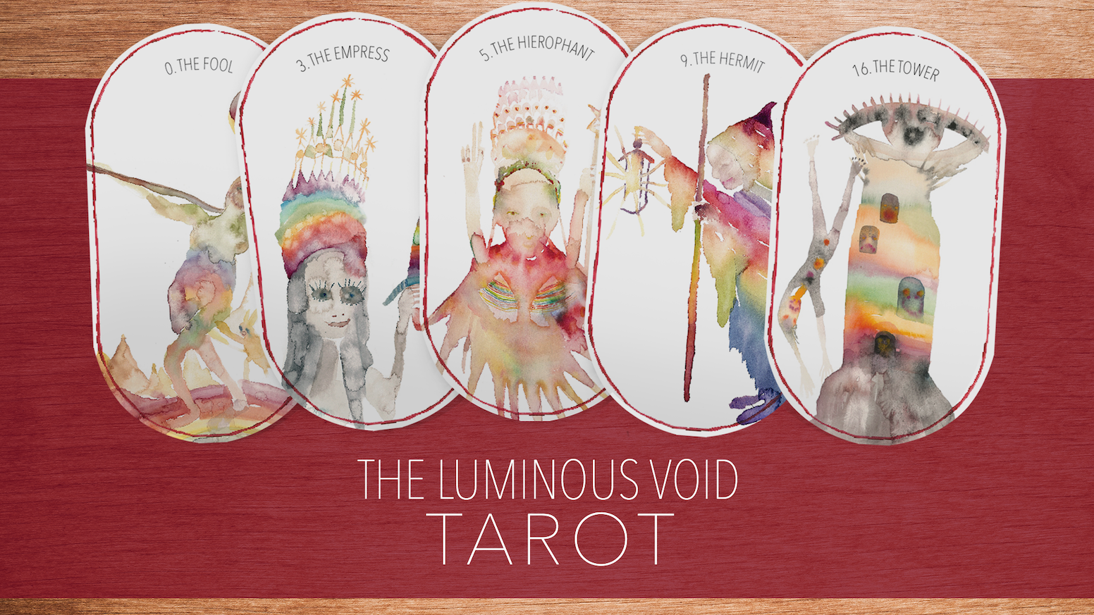 THE LUMINOUS VOID TAROT HAS BEEN FUNDED. You can pre-order order from the button below or find us here: www.theluminousvoid.com