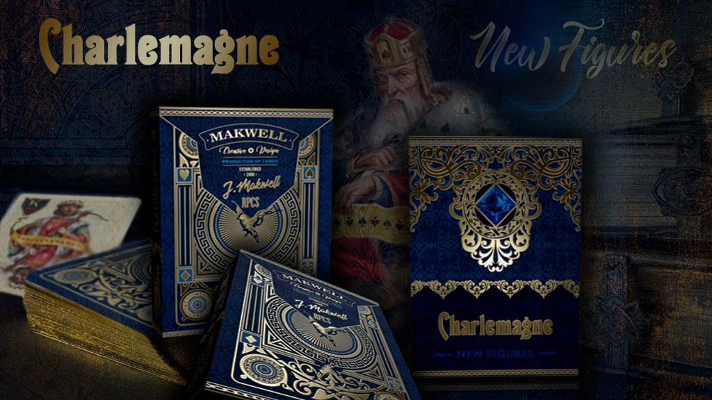 Charlemagne Playing Cards // SWAROVSKI CRYSTAL project video thumbnail
