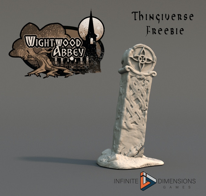 Wightwood Abbey Marker Stone on Thingiverse