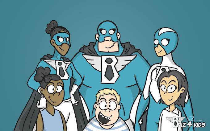 Our Superhero Team