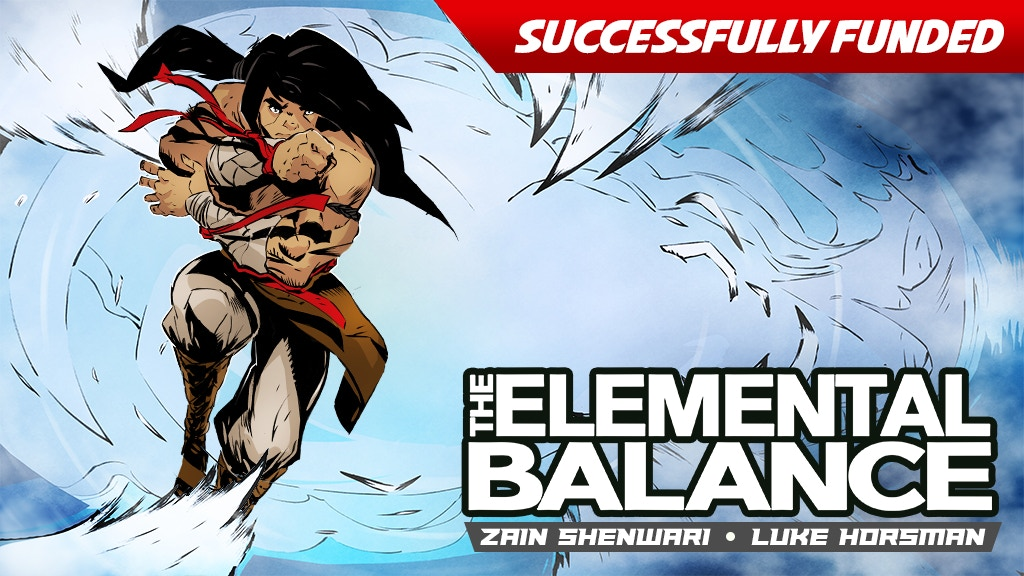 The Elemental Balance | Ch 1, 2, & 3 (64 pgs) project video thumbnail