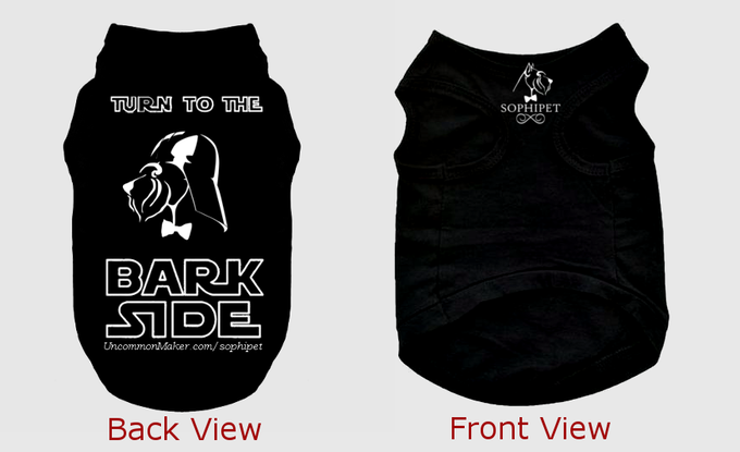 Bark Vader Canine T-Shirt | *Design is subject to change