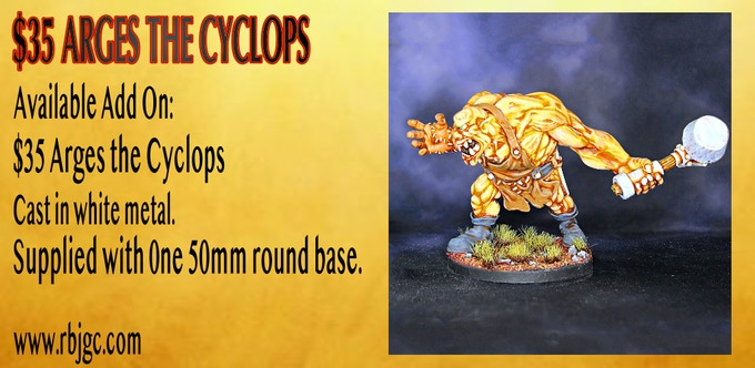 ARGES THE CYCLOPS ADD ON