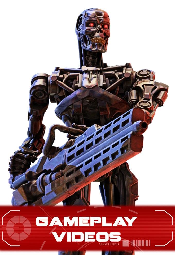 T-800 Endoskeleton Artwork
