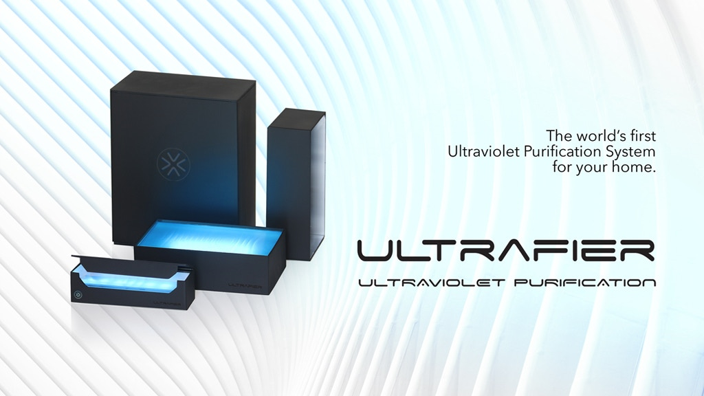 Ultrafier Mini. For Bacteria and Virus free toothbrushing.