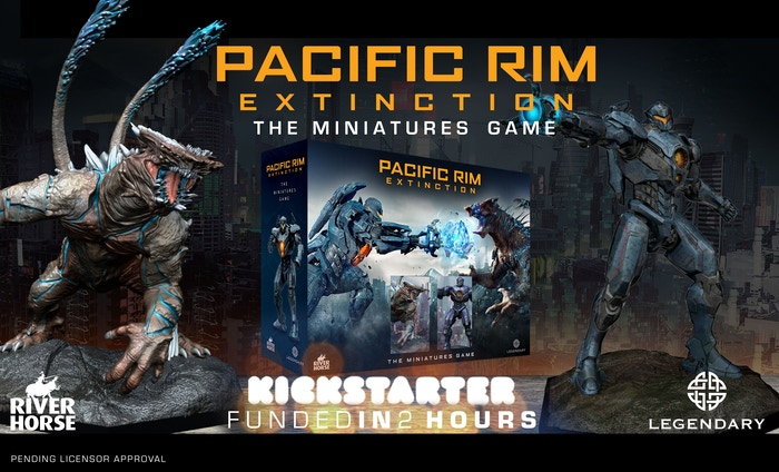 An explosive game of Jaeger vs. Kaiju battles where you'll fight with huge painted miniatures.