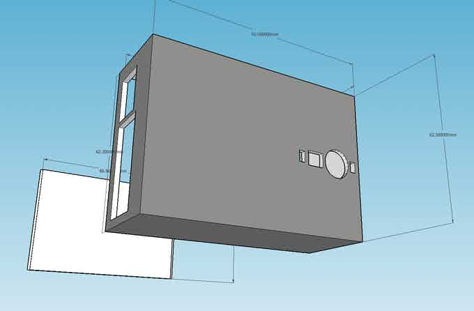 Enclosure without Display