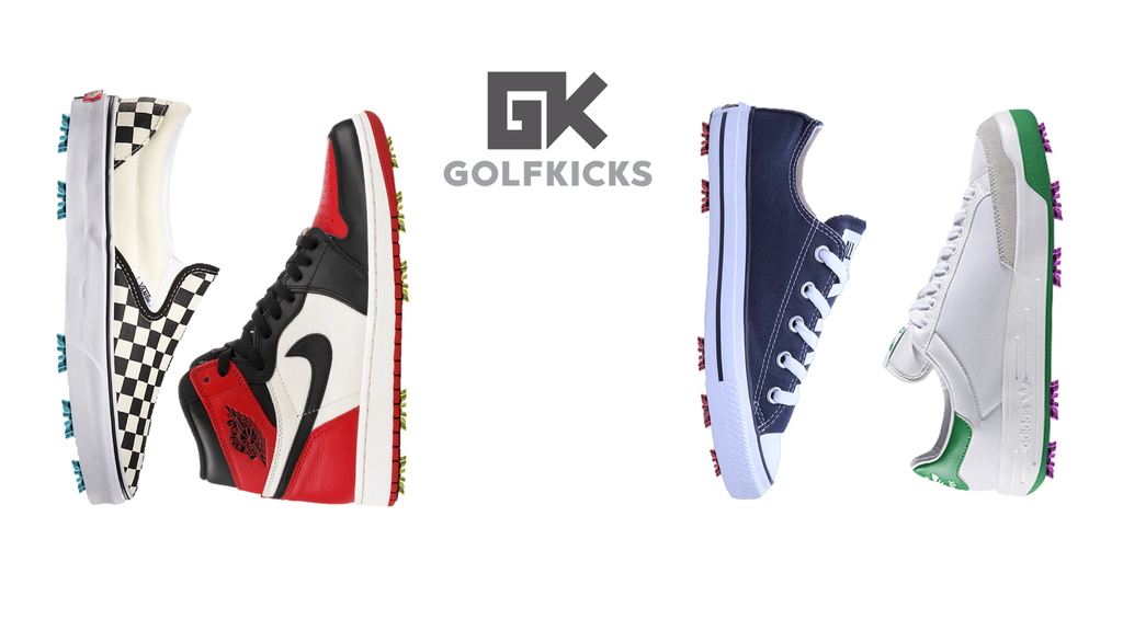 Golfkicks - Transform Your Sneakers Into Golf Shoes