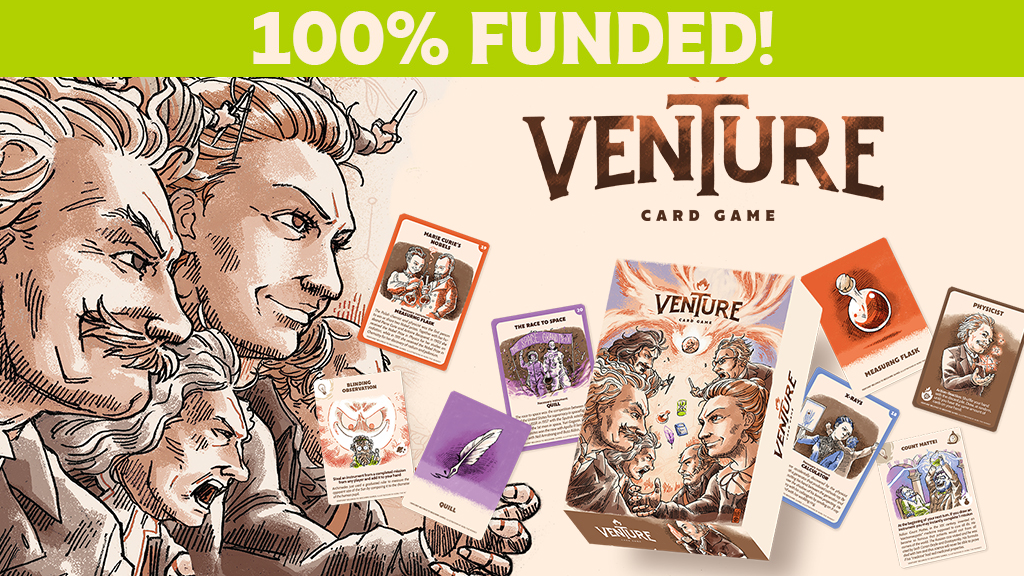 Venture the scientific sabotage card game! project video thumbnail