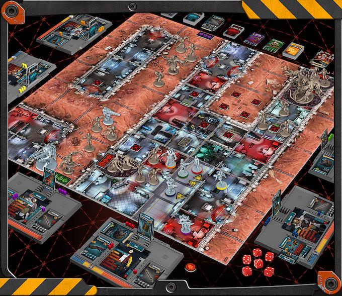 Image result for zombicide invader art