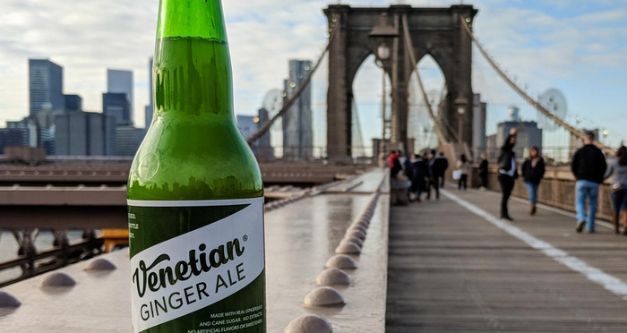Venetian Ginger Ale is a classic ginger ale inspired by a century-old iconic Vermont soda of the same name.