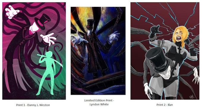 "Selection of ""Mandy the Monster Hunter"" Art Prints"
