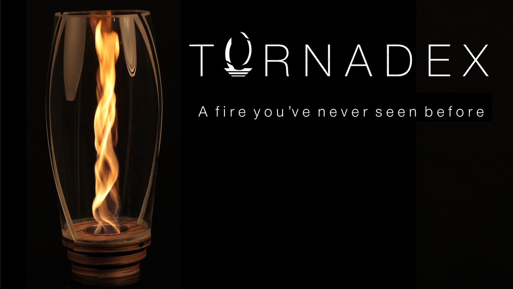 Tornadex: Eco-Friendly Fireplace With a Twist