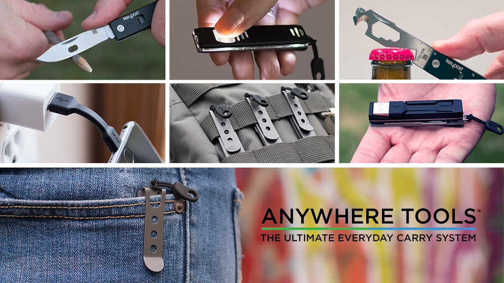 Anywhere Tools - The Ultimate Modular Everyday Carry System project video thumbnail