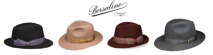 Our Borsalino hats selection