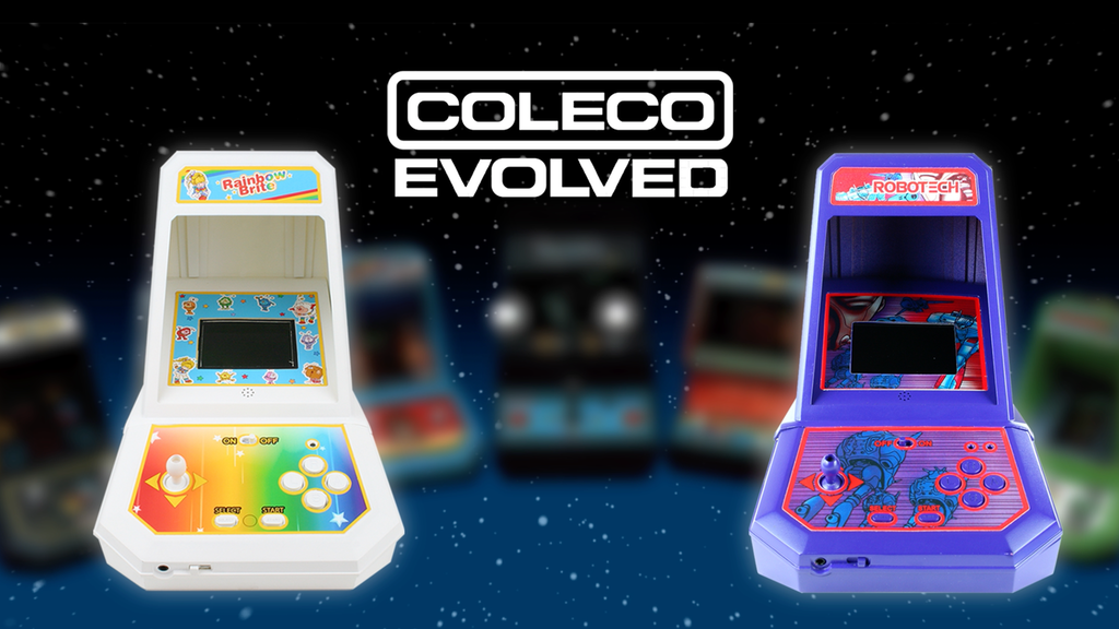 Coleco Evolved Mini Arcades project video thumbnail
