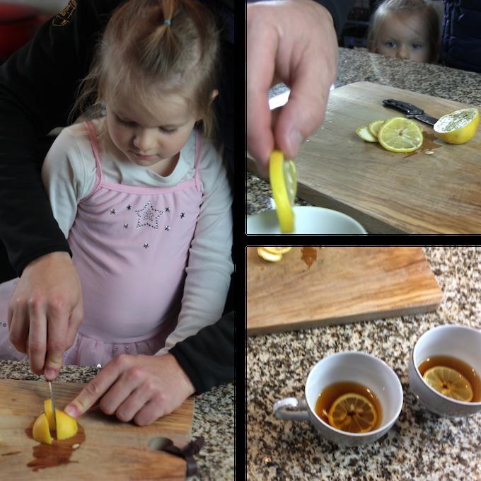 When life gives you lemons... Slice and dice them with Braza Bro and make lemon tea.