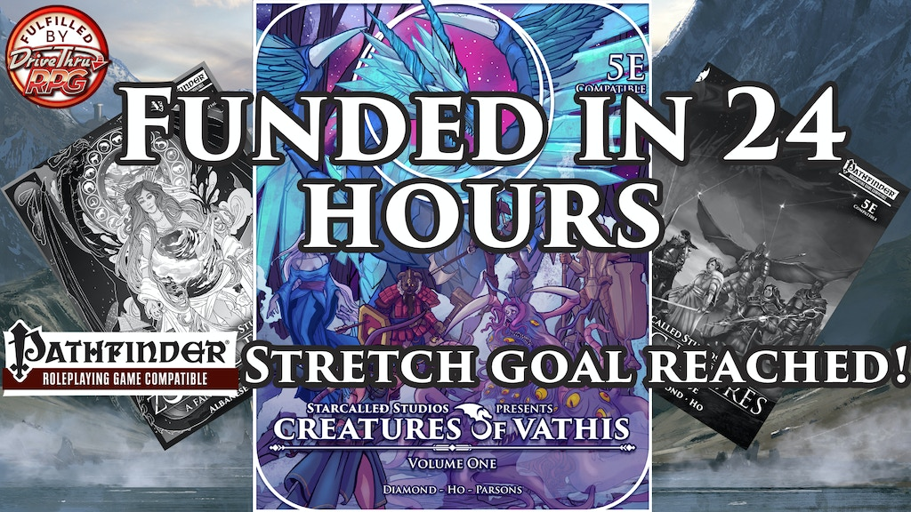 Creatures of Vathis: Volume One (D&D 5e) (PF Stretch Goal) project video thumbnail