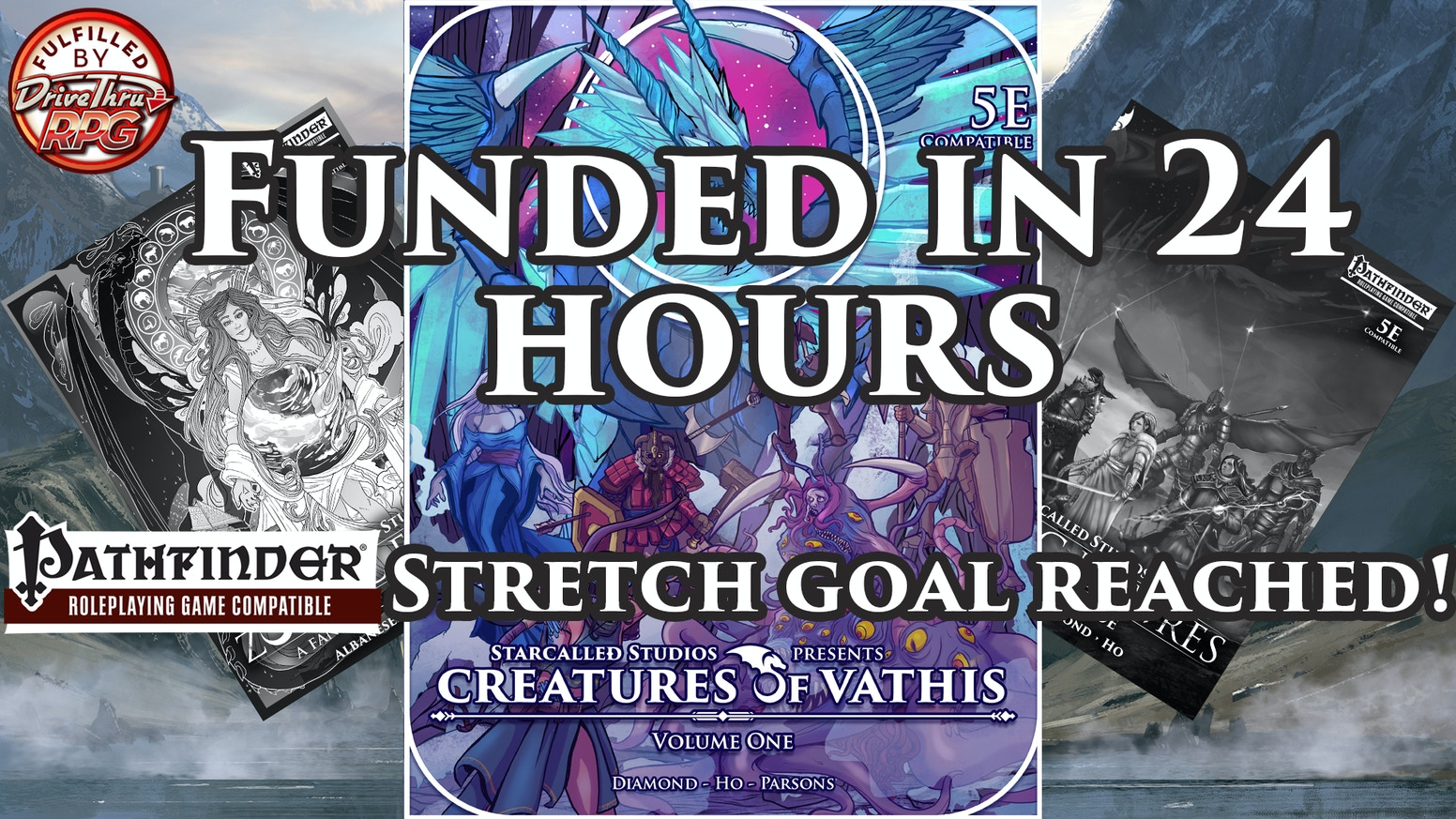 Creatures of Vathis: Volume One (D&D 5e) (PF Stretch Goal