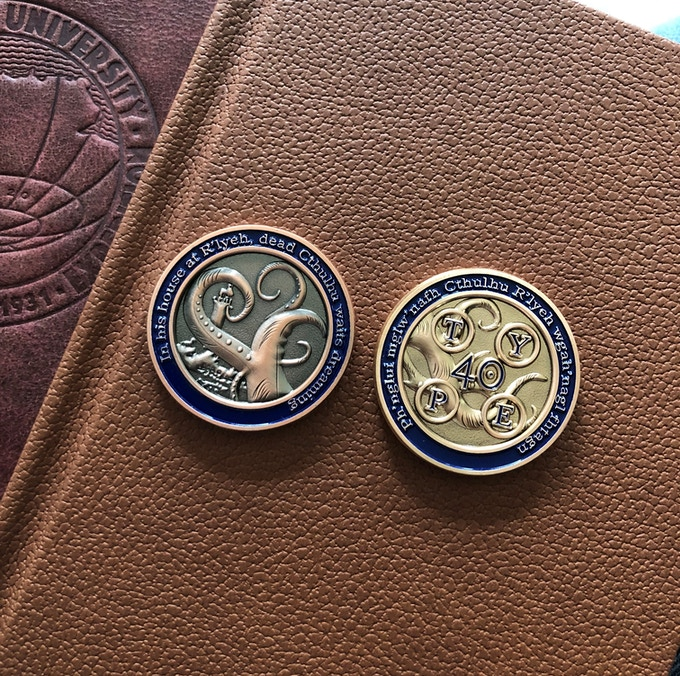 Exclusive Backer Challenge Coin