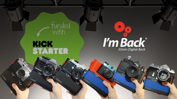 "I'm Back® - A ""Multi-System module"" which transforms into digital your old 35mm analog camera the 50s until the 90s"