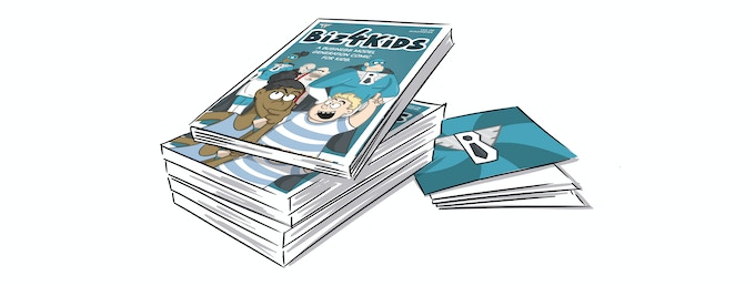 FRIENDS PACK CHF 120.-   Why not give some comics to your friends and family? Get 5 Comic Books in a batch! Comes with the postcards.