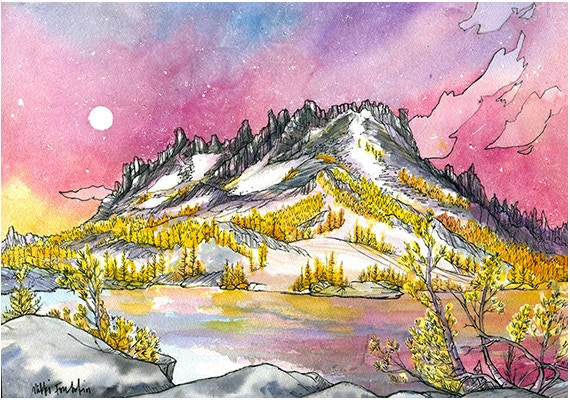 Enchantment Larches by Nikki Frumkin