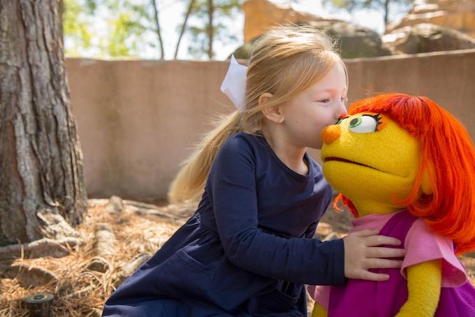 To celebrate Autism Awareness month Sesame Street gave Julia