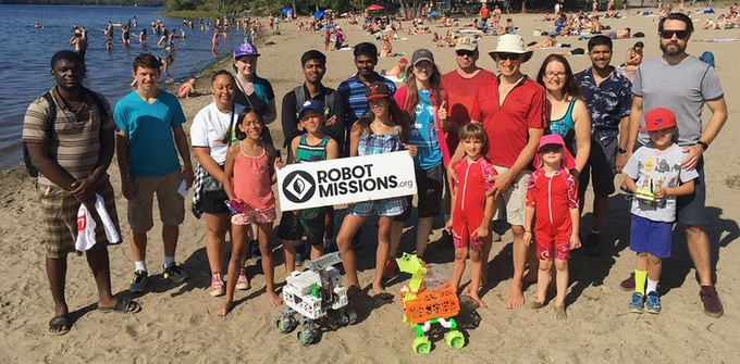 Field Test at Westboro Beach, Ottawa, ON with 40 participants total! - August 2017