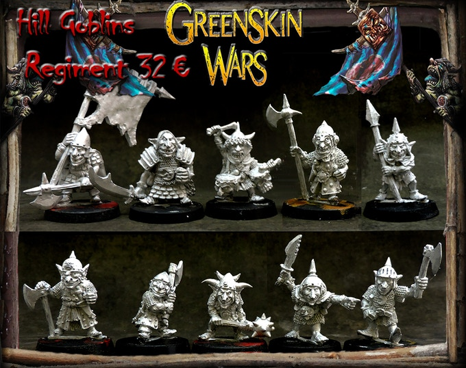 Hill Goblins regiment