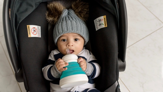 CollapseAndGo: Collapsible Baby Bottle & Sippy Cup