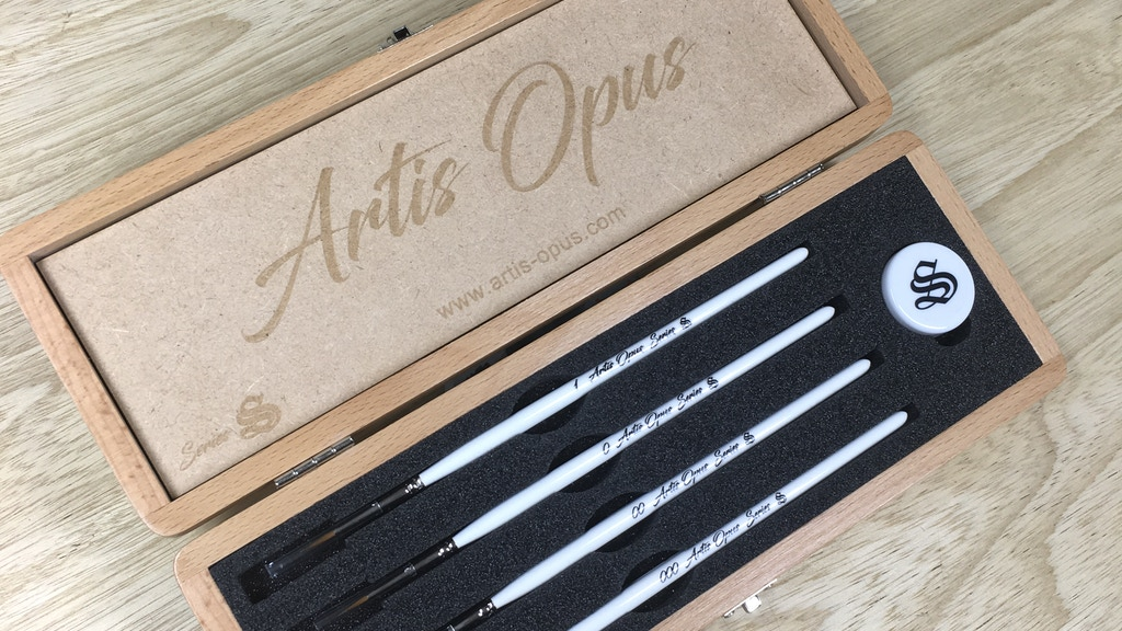 Artis Opus - Series S: Brush Set project video thumbnail