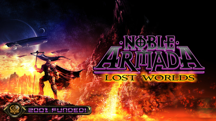 Noble Armada: Lost Worlds is a real-time starship fleet strategy game by Holistic Design set in the Fading Suns universe!