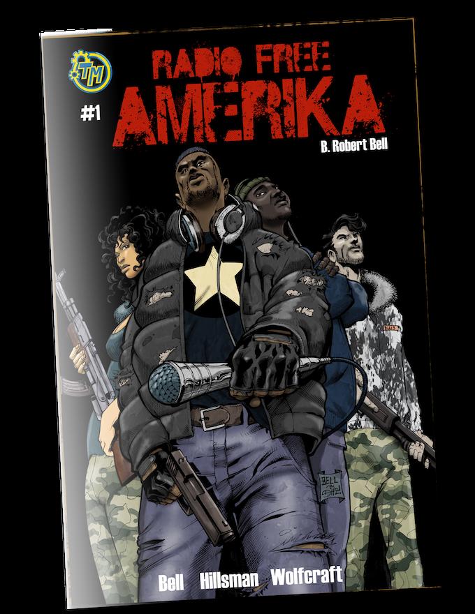 Radio Free Amerika- Book 1